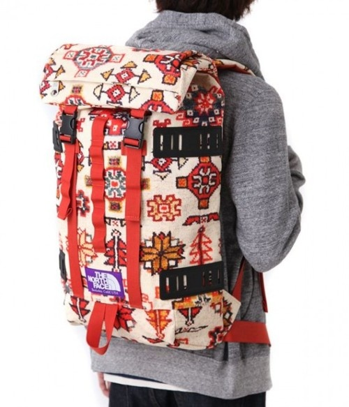 LOVE THIS, North Face Purple Label Navajo print backpack