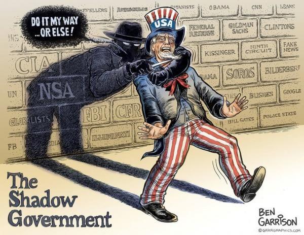 The Shadow Government's Destruction Of Democracy | Zero Hedge