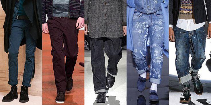 Модные мужские джинсы осень-зима 2014-2015. Какими они будут в нынешнем сезоне. Ультрамодные мужские джинсы представлены в огромном ассортименте...