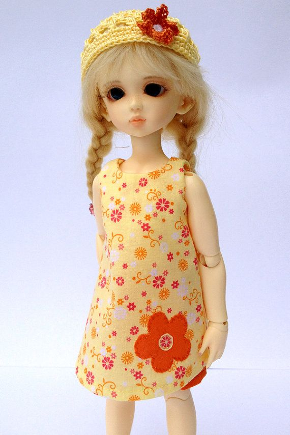 Summer Dress Outfit for Yosd 1/6 BJD by AdrianneInspired on Etsy
