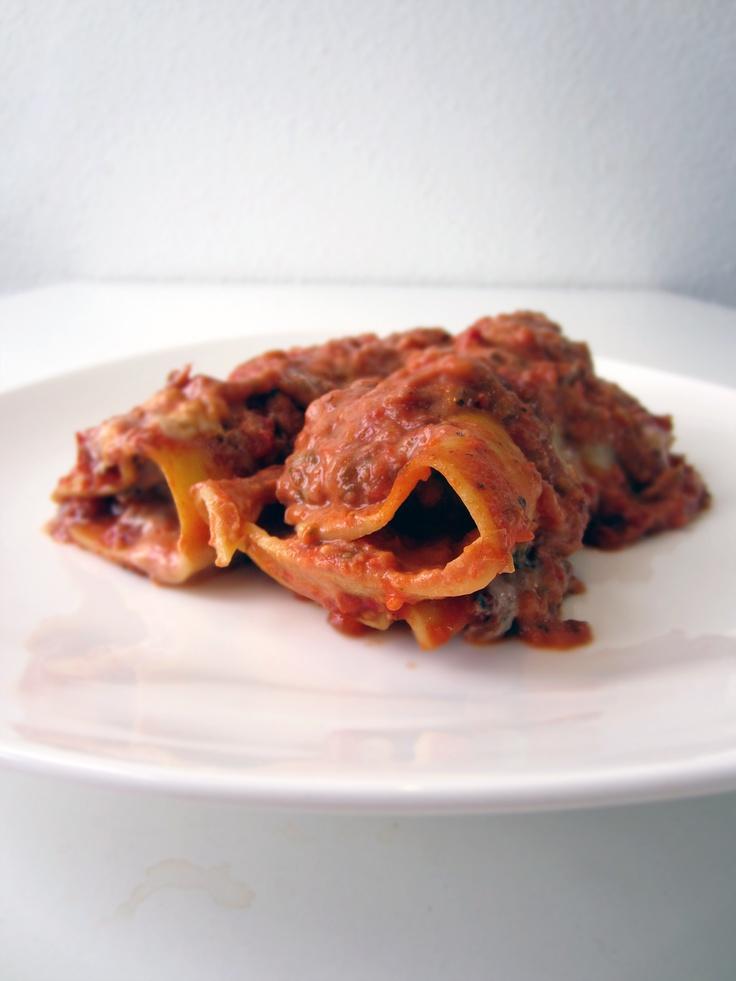 Cannelloni med oksekød og tomatsauce v2