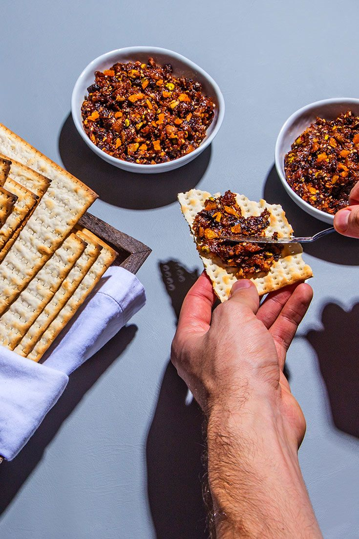 Chopped nuts and dried fruit are turned into a fragrant spiced paste for a Sephardic version of Passover haroset.