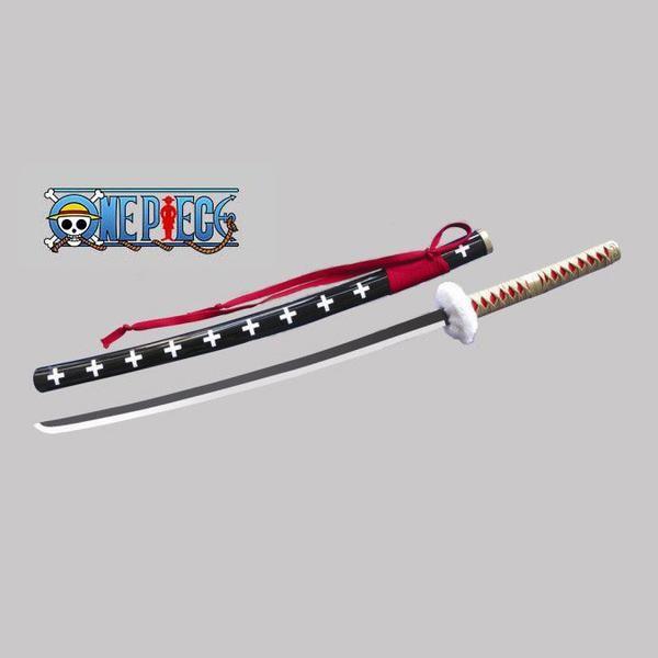 Replica Sword From The Anime Series One Piece Kikoku Trans Demon Wail Is Trafalgar Law S Katana 104cm Carbon Ste Trafalgar Law Trafalgar Replica Swords