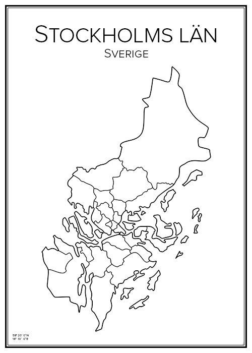 stockholms län karta