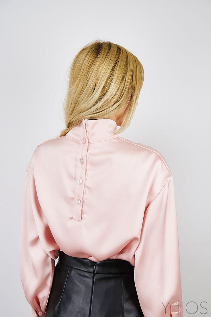 Yfos Online Shop | Clothes | Tops | Satin Blouse by Milkwhite