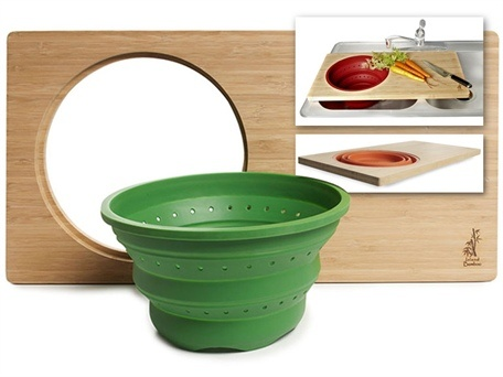I need to make a cutting board to fit my colander for over the sink!: Cutting Boards, Bamboo Cut, Sinks Bamboo, Cut Boards, Bamboo Over The Sinks, Overthesink Cut, York Kitchens, Over The Sinks Cut, Bamboo Overthesink