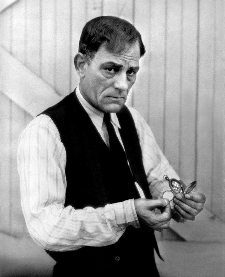Lon Chaney Sr - the Man of a Thousand Faces, and one of the greatest actors and stars of the silent era.