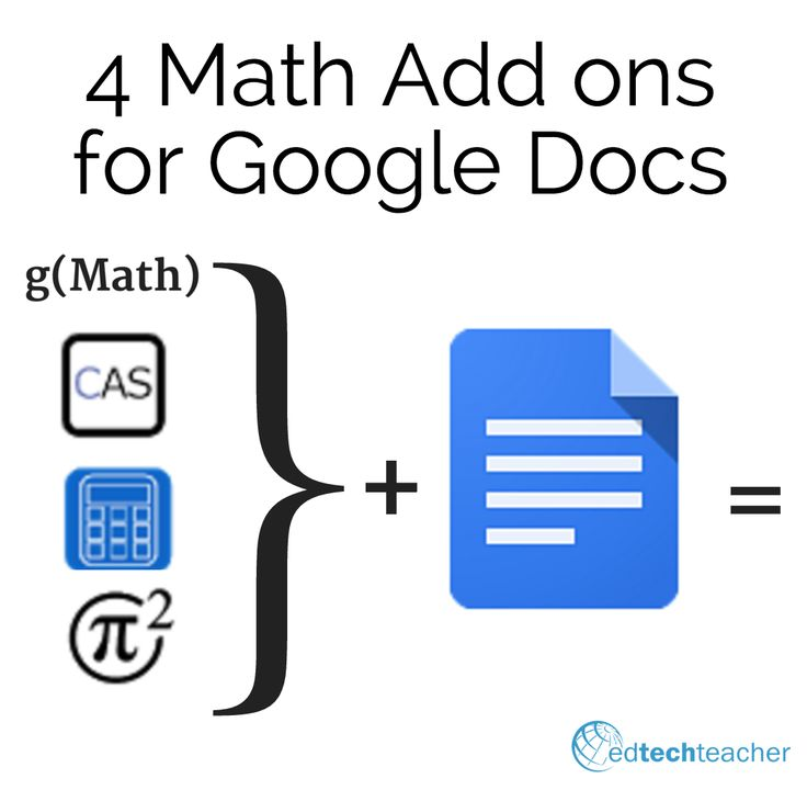how to use division in google docs