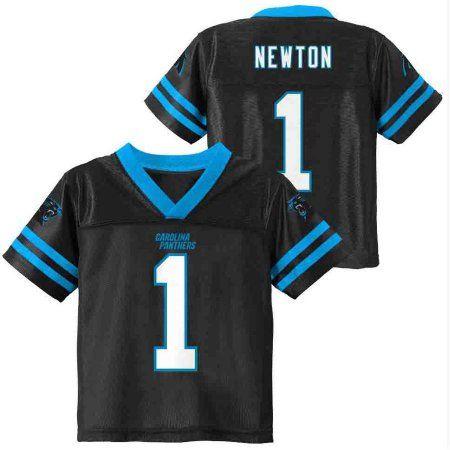 NFL Carolina Panthers Toddler Cam Newton Jersey, Toddler Boy's, Size: 25 Months, Black