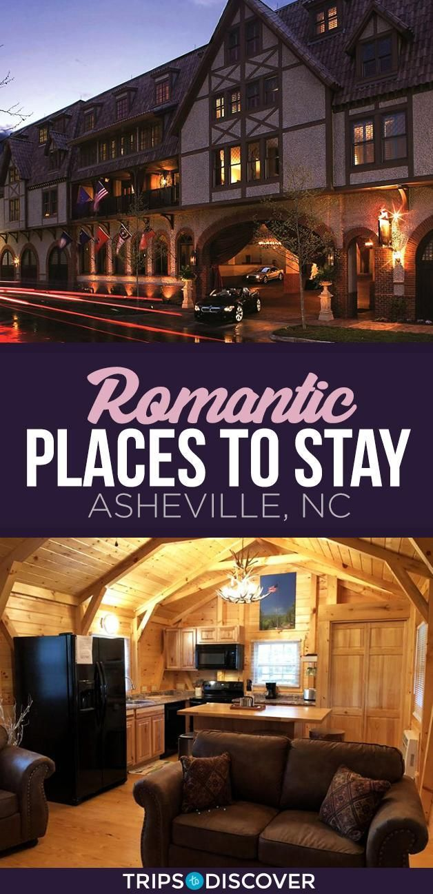 eight Most Romantic Locations to Keep in Asheville, North Carolina