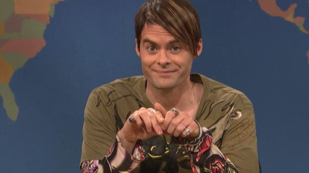 Bill Hader's 14 Greatest SNL Characters (VIDEOS)