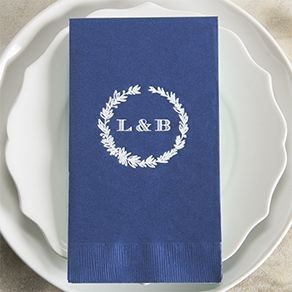 Custom Napkins | Personalized Wedding Napkins | ForYourParty.com