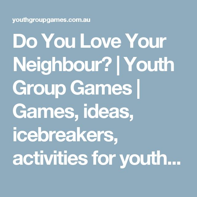 3 Youth Group Lessons Free to Print