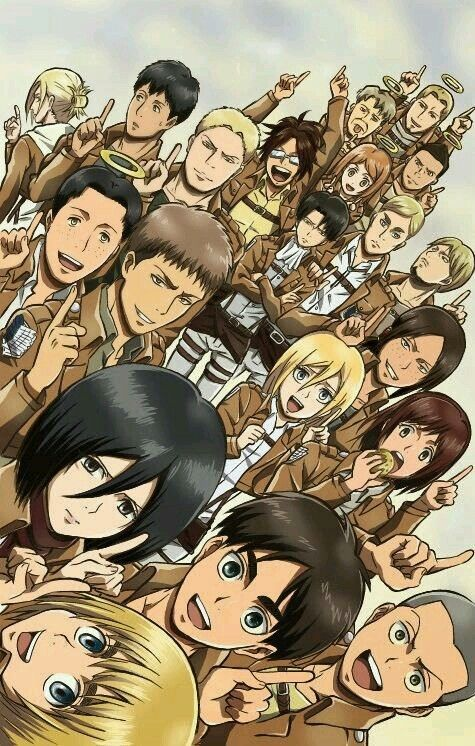 Attack on Titan.