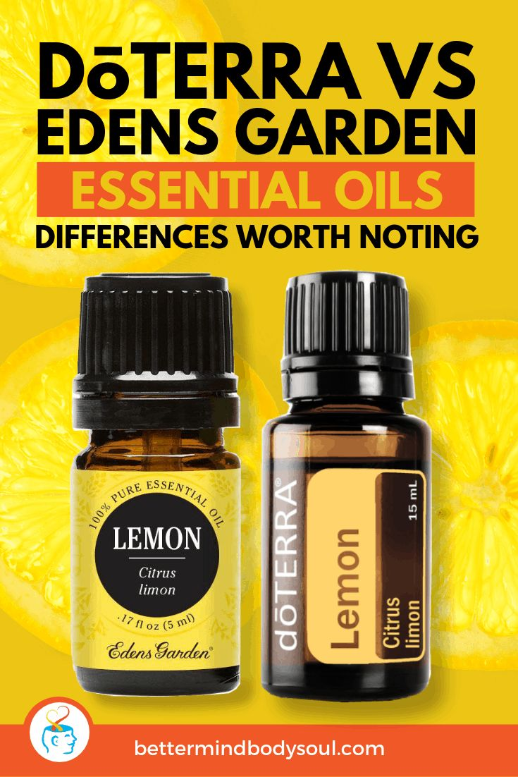The Differences Between doTERRA and Edens Garden Essential