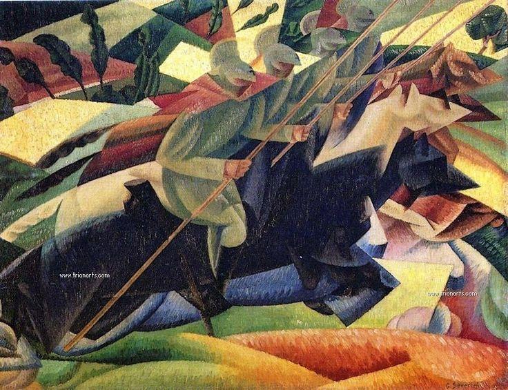 Gino Severini: Entre el futurismo y el cubismo - TrianartsTrianarts