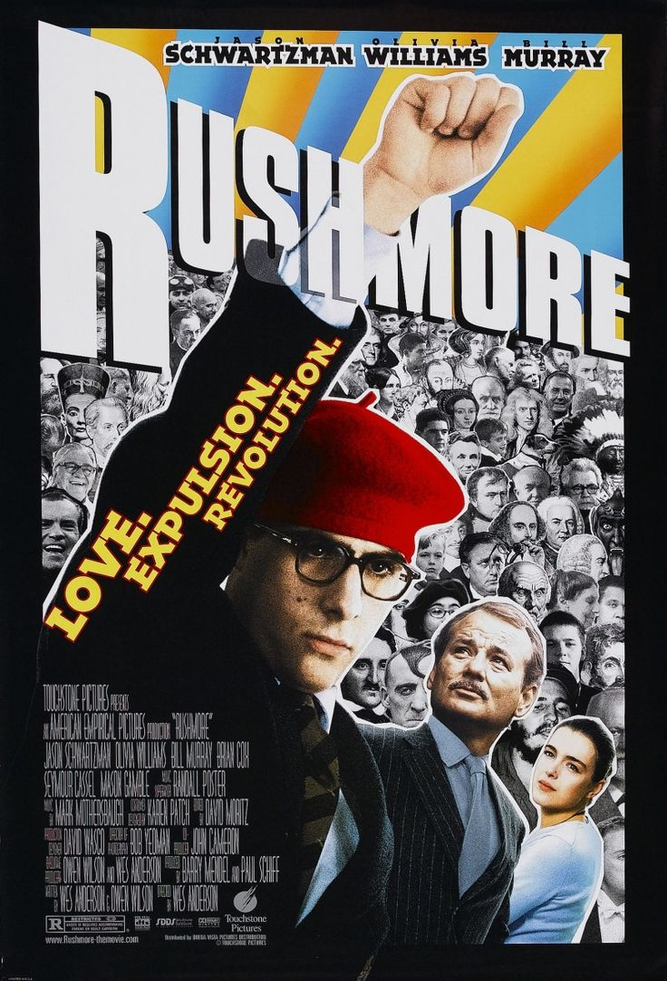 """""""Rushmore"""" starring Jason Schwartzman and Bill Murray. Directed by Wes Anderson. 1998."""
