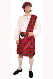 Фотографии шотландского национального костюма