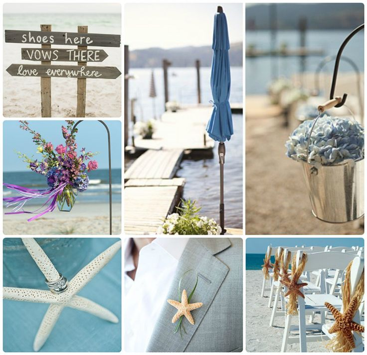 Romantische Strand Hochzeit Idee für modern BRAUT!