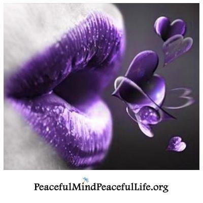 """Words are the voice of the heart."" #Confucius - be kind if you don't know the battle others face each day dealing with FibroShades Of Purple, The Colors Purple, Beautiful, Blowing Kisses, A Kisses, Purple Passion, Purple Heart, Purple Love, Purple Lips"