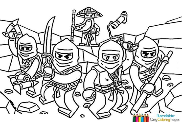 die besten 25 ninjago malvorlage ideen auf pinterest