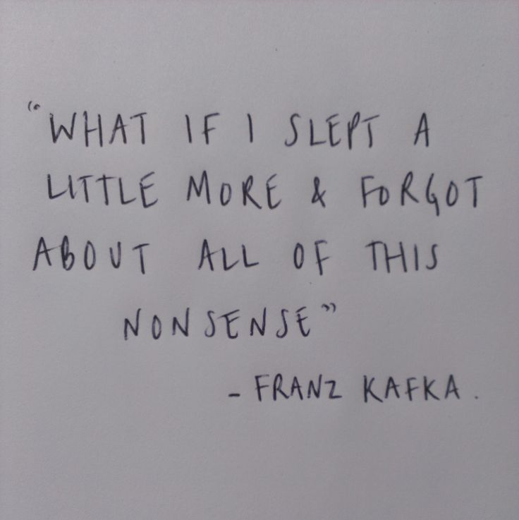 Franz Kafka quote. A twinge or more of despair...