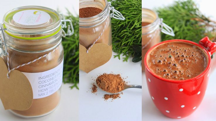 Raw Hot Chocolate DIY Holiday Mix
