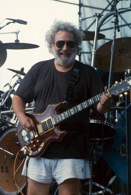 Jerry Garcia..in the wildest short shorts ever. Discover more community driven Grateful Dead Content at: gratefuldeadportal.tumblr.com