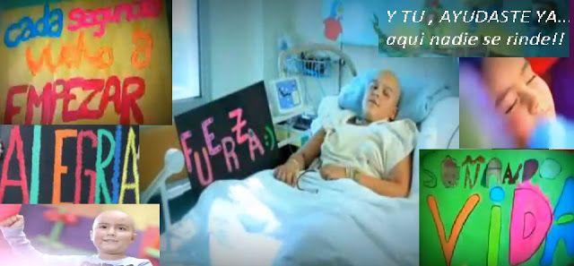NIÑOS CON CANCER INFANTIL: SEGUIREMOS SOÑANDO VIDA APOYA LUCHA CONTRA EL CANC...
