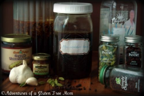 HOMEMADE WORCESTERSHIRE SAUCE: GUTEN FREE AND CORN FREE (WITH A SOY FREE OPTION): Homemade Worcestershire, Homemade Sauces, Worcestershire Sauces, Gluten Free, Gluten Fre Worcestershire, Sauces Recipes, Allergies Fre Worcestershire, Free Worcestershire, Free Sauces