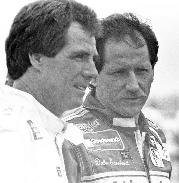 """Chad Bonham: """"Larry McReynolds told me a story about your wife putting a scripture in your car for every race and how Dale Earnhardt started asking for her to give him a scripture too. What was the scripture she gave him the day he died?"""" /   Darrell Waltrip: """"It was Proverbs 18:10: 'The name of the Lord is a strong tower and a rock. The righteous will run to it and be safe.'"""".  #DaleEarnhardt"""