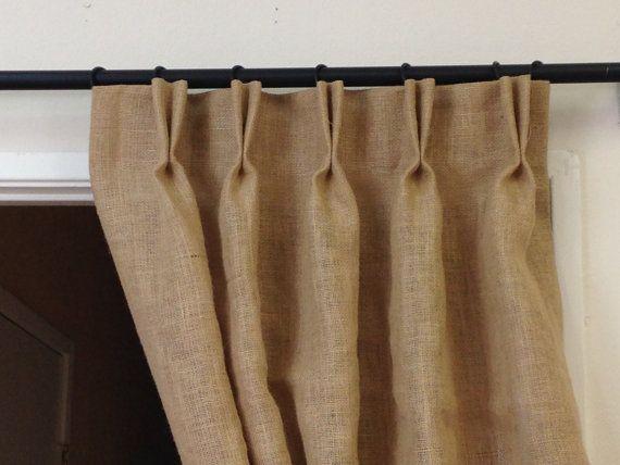 Curtains Ideas cream burlap curtains : 1000+ ideas about Burlap Drapes on Pinterest   Burlap curtains ...
