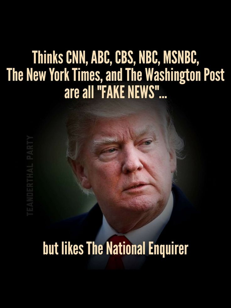 The National Enquirer is a Lying, Rag Tabloid Paper that 's been sued countless times for Fake Stories. Its also a favorite of Low IQ, Low Life Readers. Explain's why Trump and his Supporters love this 'paper' so much.
