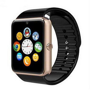 Herren Smart Uhr digital Touchscreen / Fernbedienung / Kalender / Alarm / Schrittzähler / Fitness Tracker / Stopuhr Caucho Band Cool 5191119 2016 – €21.16
