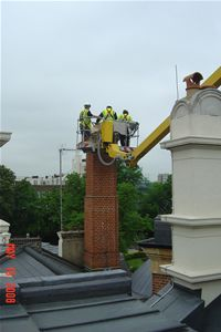chimney smoke testing