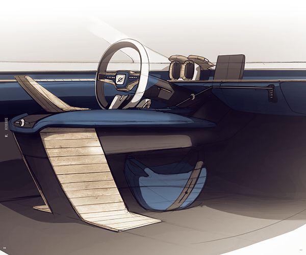 volvo autonomous interior on behance interior sketch pinterest behance on and interiors. Black Bedroom Furniture Sets. Home Design Ideas