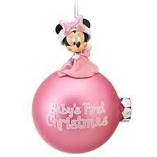 #manythings This exclusive ornament can only be found at Disneyland and the Walt #Disney World Resort. Commemorate baby's first Christmas with this super adorabl...