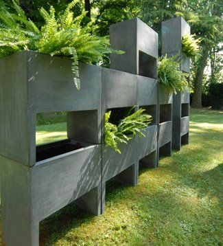 concrete architectural planter - Bing Images