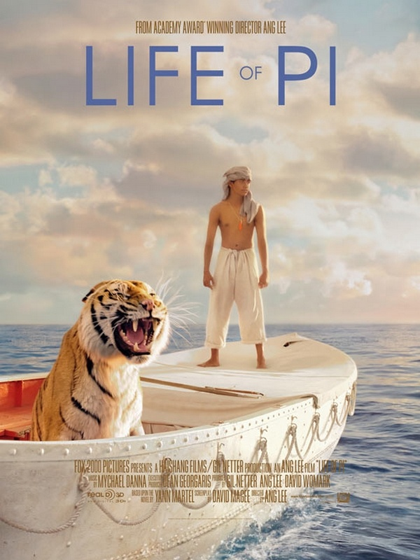 l'odyssée de Pi : And Lee est un cinéaste surpenant. Un film très impressionnant, c'est sûr, mais qui laisse au final une impression assez mitigée.