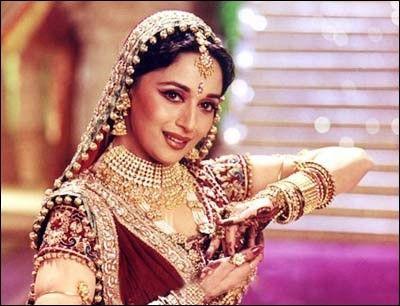 Madhuri in the movie DevDas