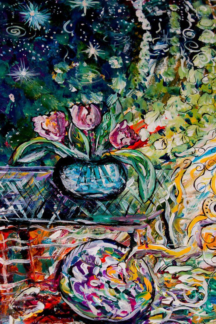 """Фотографии Мой """"Космос"""" Абстрактные картины Ирины Кузиной. – 7 альбомов"""