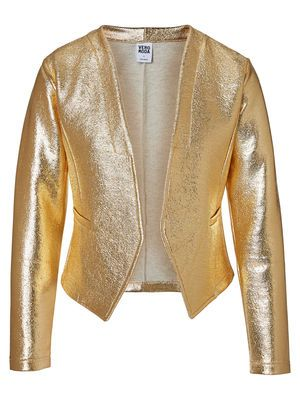 The golden blazer from VERO MODA. For party winners :-) #veromoda #party #gold #blazer #fashion