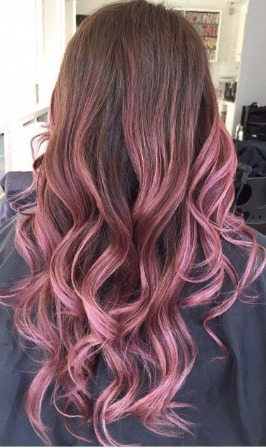 Salon Haze - Vancouver, BC, Canada. Balayage by @lorettatomhair @pink @ombre @rose
