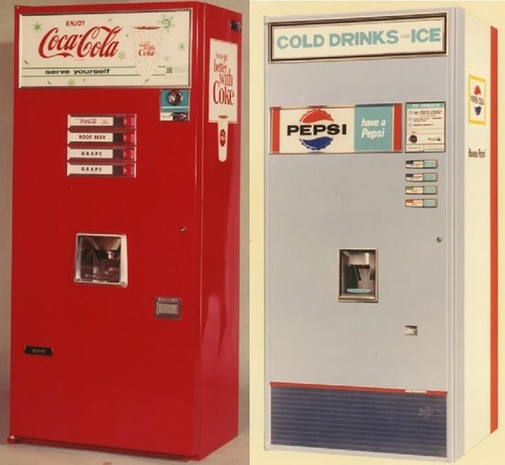 Soda Cup Vending Machines