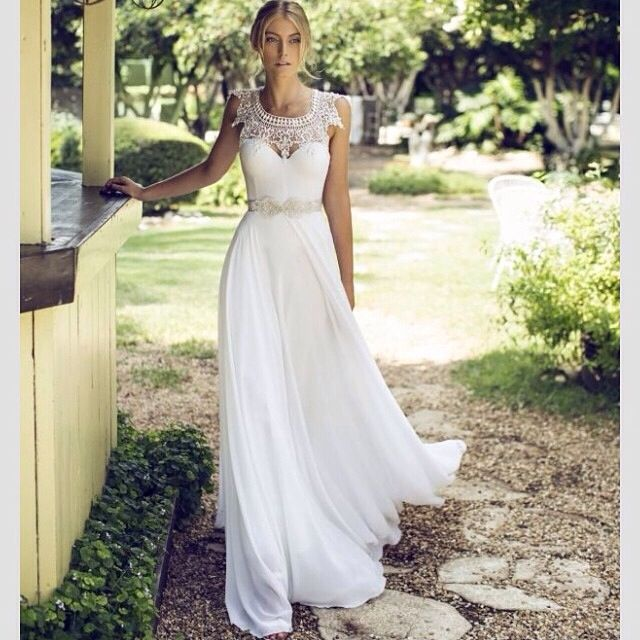ce sera ma robe de mariee <3