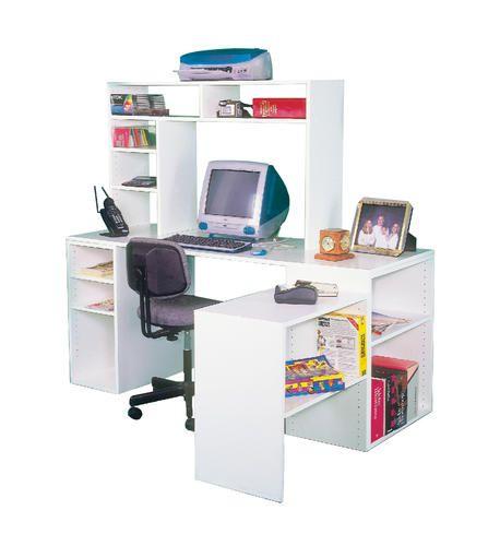 Dakota Shelving Computer Desk Work Center at Menards