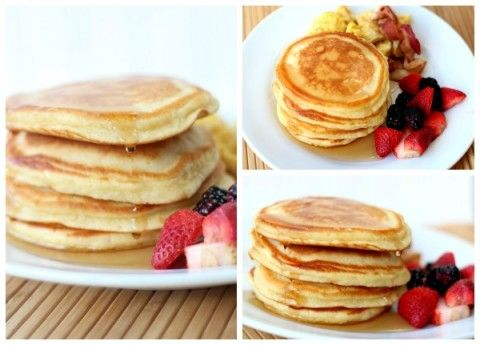 The Best Pancakes - Somewhat Simple