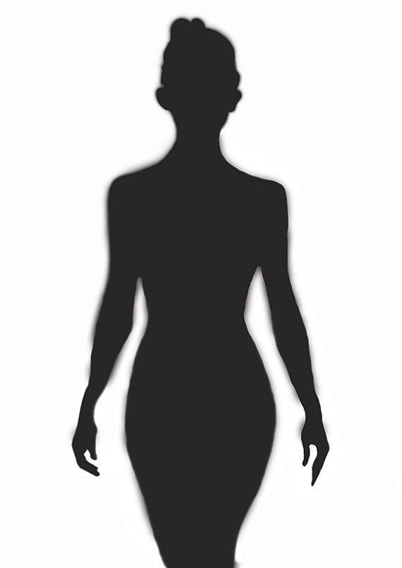 Conjunto de 3 impresiones chica desnuda cartel Resumen negro