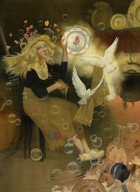 "Перро ""золушка"" 056 . by Nadezhda Illarionova"
