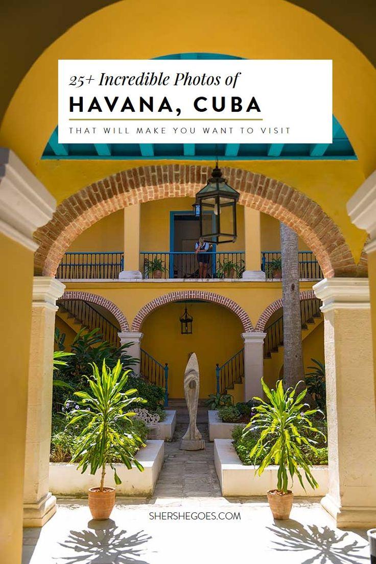 Take a virtual walking tour of Havana Cuba through this photo diary.